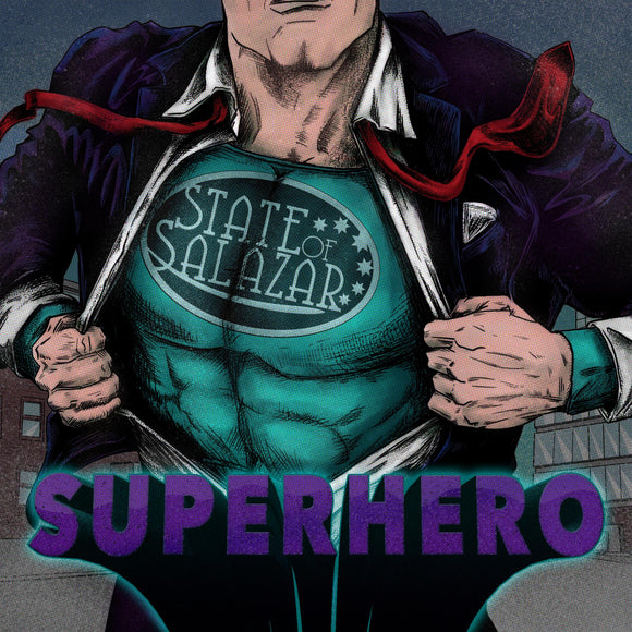 STATE OF SALAZAR - Superhero - CD