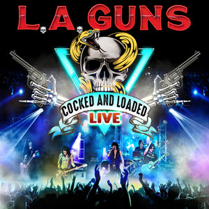 L.A. GUNS - Cocked & Loaded Live - CD