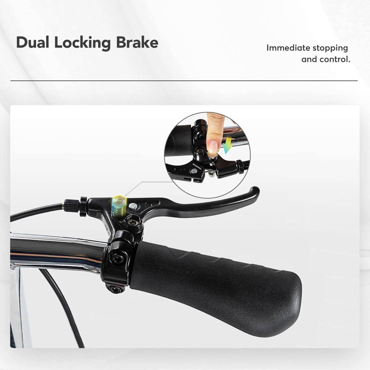 heavy duty Knee scooter with safety knee pad