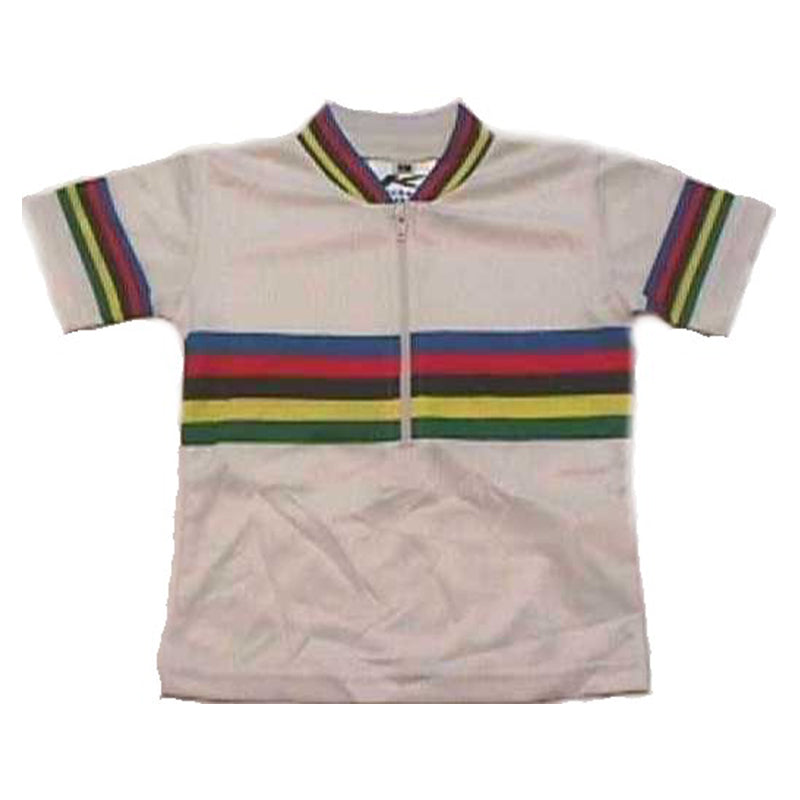 Sublimated White World Champion Baby/Infant Bike Jersey