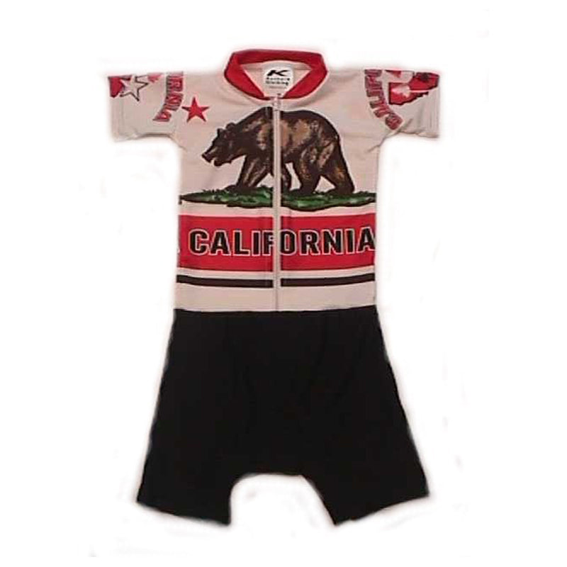 Sublimated Baby Suits Cal Bear