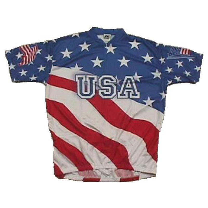 Sublimated Jersey USA Flag