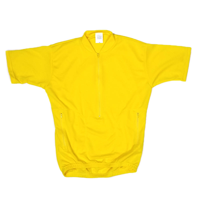 Recumbent Cycling Jersey Yellow #2