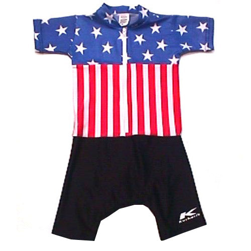 Sublimated Baby Suits Stars & Stripes