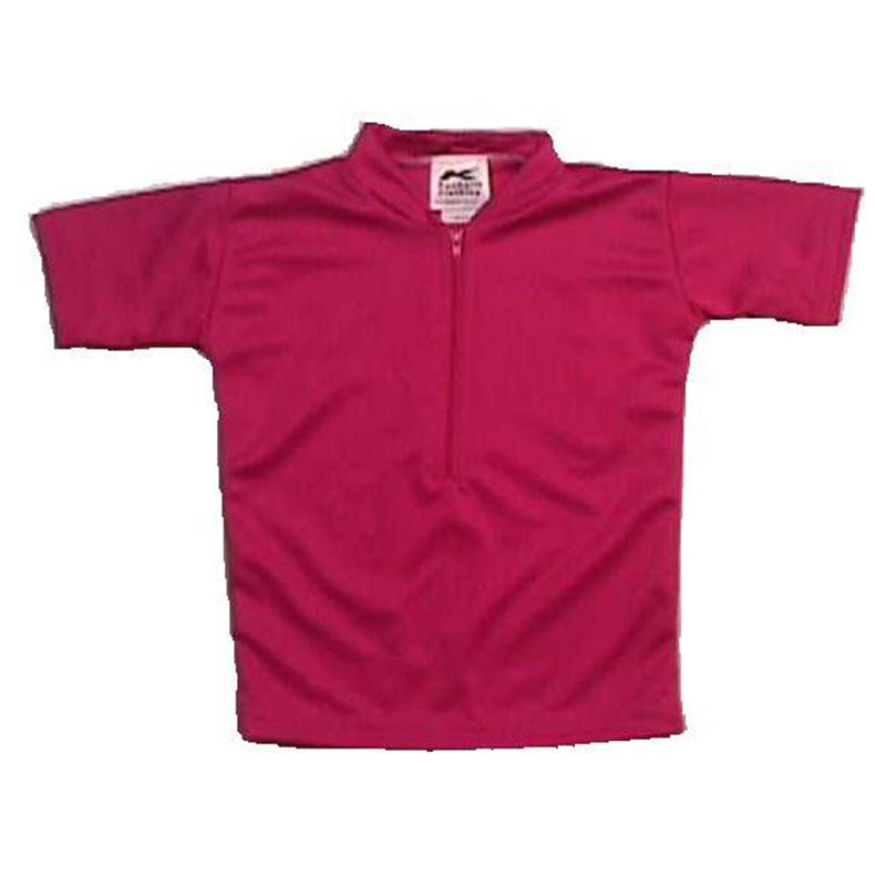 Coolmax Solid Fuschia Pink Baby/Infant Bike Jersey