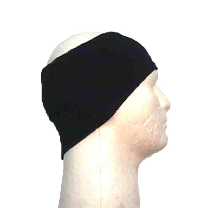 Wool Ear Warmers - Black