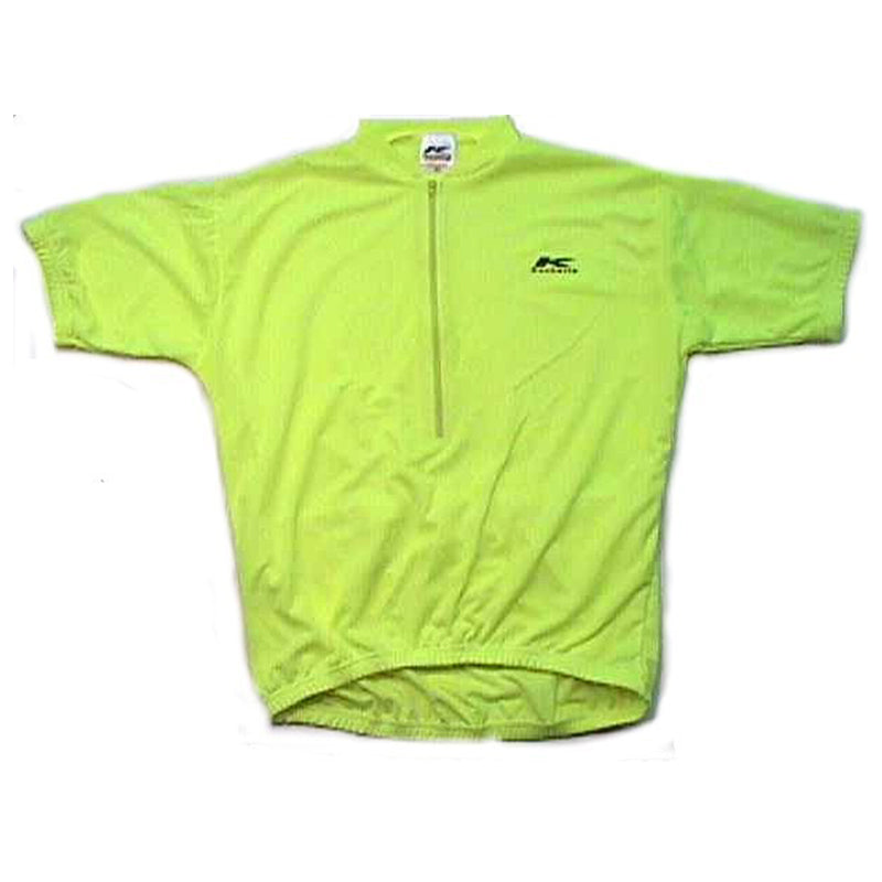 Coolmax Cycling Jersey Flourescent Yellow