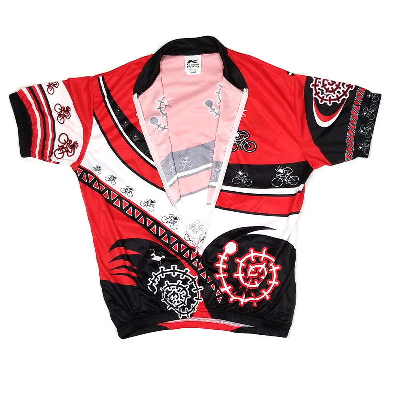 Sublimated Jersey Kokopelli Solo Red