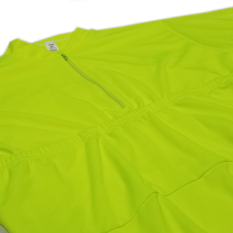 Recumbent Jersey Flourescent Yellow | Kucharik