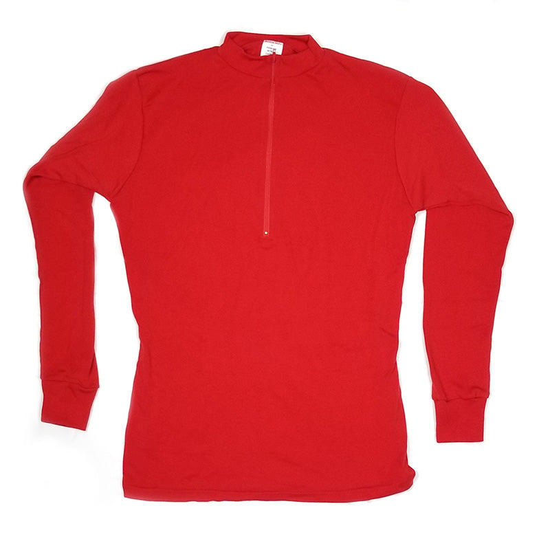 Wool Jersey Red Long Sleeve | Kucharik
