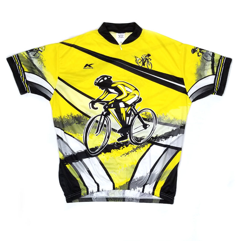 Yellow Black Racer Jersey