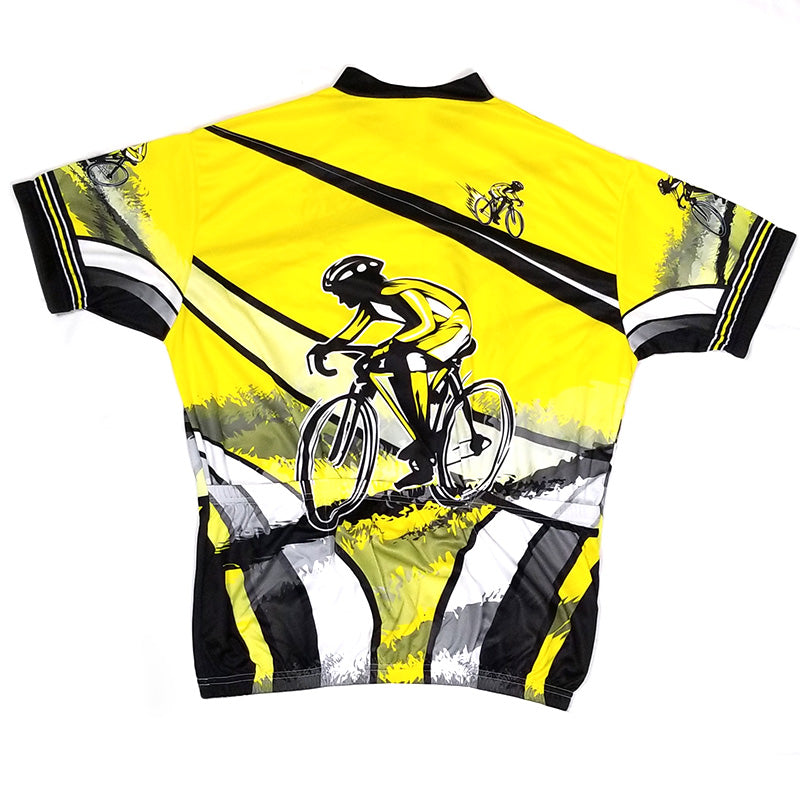 Yellow Black Racer Jersey | Kucharik