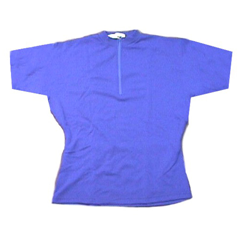 Merino Wool Cycling Jersey - Short Sleeve - Royal Blue