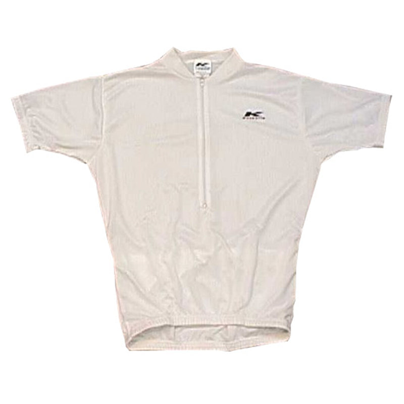 Coolmax Cycling Jersey White