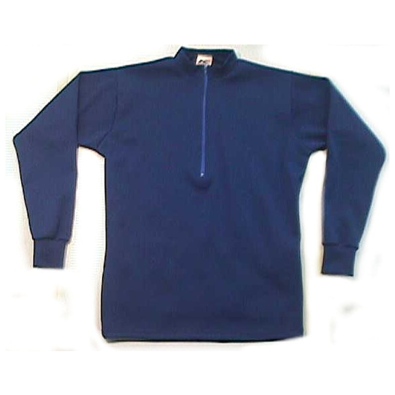 Merino Wool Cycling Jersey | Long Sleeve | Royal Blue