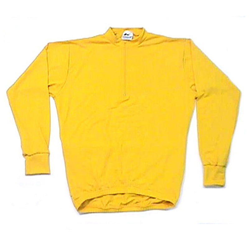 Woolblend Long Sleeve Yellow Jersey | Kucharik