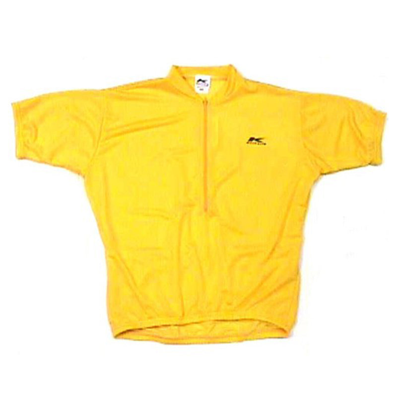 Coolmax Cycling Jersey Yellow