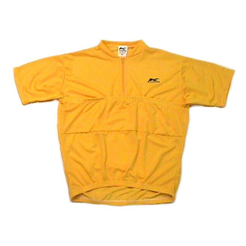 Recumbent Cycling Jersey Yellow