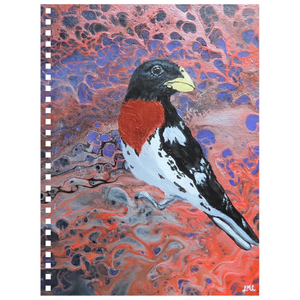 Stunning Grosbeak Notebook