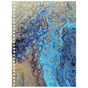 Teal Angel Notebook