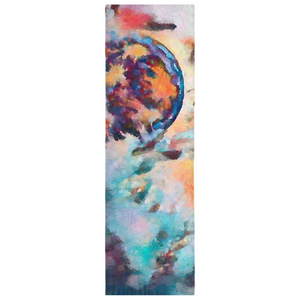 Abstract Moon Scarf