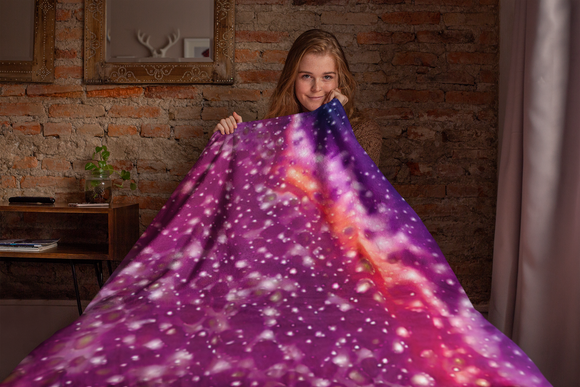 Violet Night Blanket