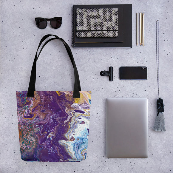 Royal Haze Tote bag