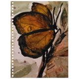 Amber Butterfly Notebook