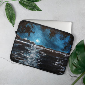 Full Moon Laptop Sleeve