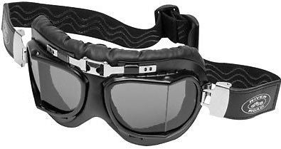 Baron Aviator Goggles by River Road Smoke Lens