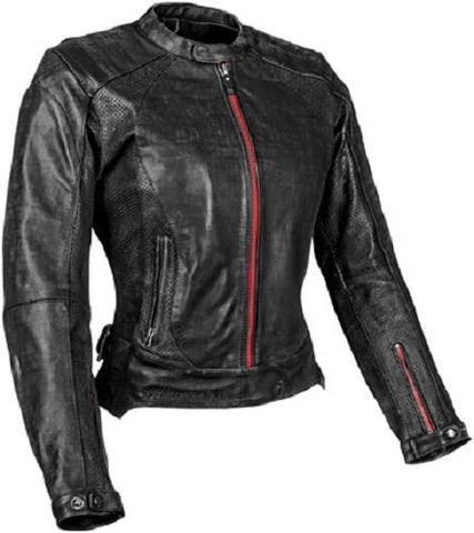 "Speed and Strngth ""Black Widow"" Leather Jacket Black"