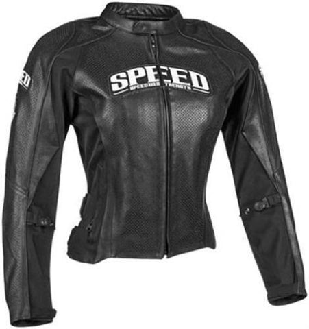 "Speed and Strength ""Throttle Body"" Leather Jacket"