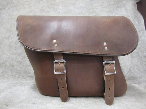 Saddlebag Leather Economy Bag Leatherworks
