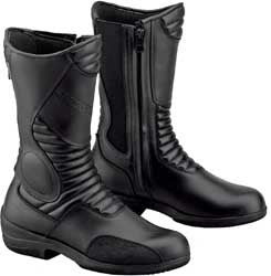 Womens Motorcycle Boots Gaerne Black Rose Made in Italy
