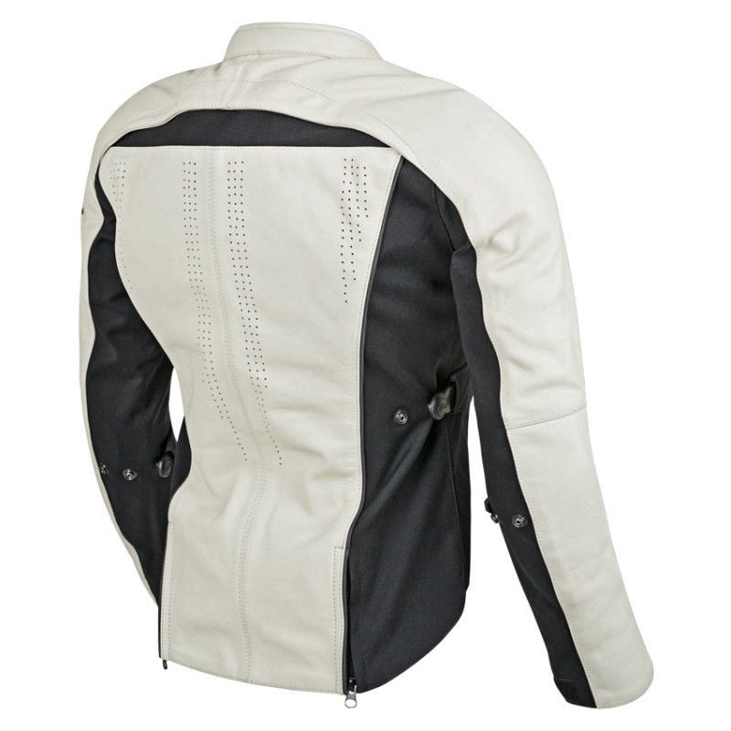 223841cb7 Speed and Strength Speed Society Leather-Textile Jacket Black and White or  Solid Black