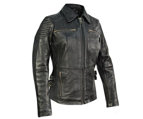 Womens Bully Leather Jacket