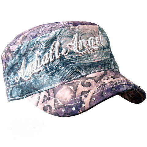 Ladies Asphalt Angel Cloth Cadet Cap