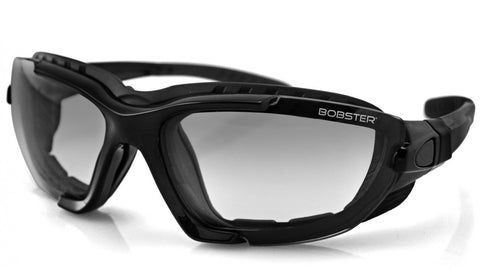 Biker Glasses - Renegade Convertible, Blk Frame, Photochromic Lens