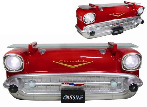 1957 Bel Air front wall shelf (with lights!)