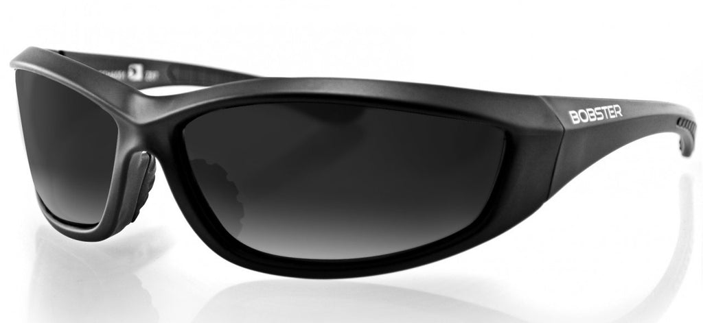 Biker Glasses - Charger Sunglasses, Blk Frame, Anti-fog Smoked or Clear Lens, ANSI Z87