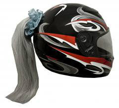 Helmet Ponytails   Choice of Colors