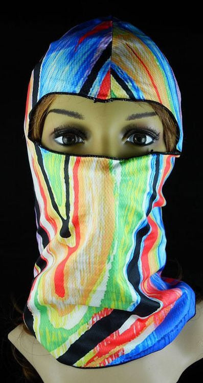 Neoprene Face Mask- Rainbow