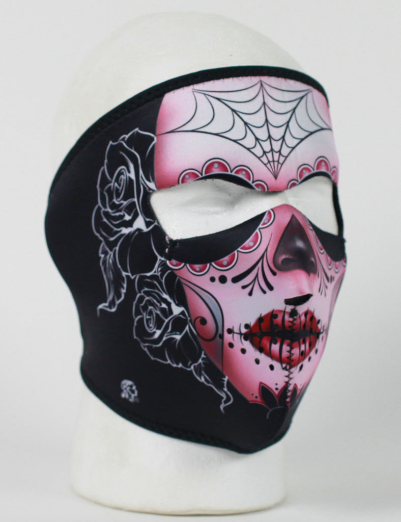 Neoprene Face Mask- Sugar Skull