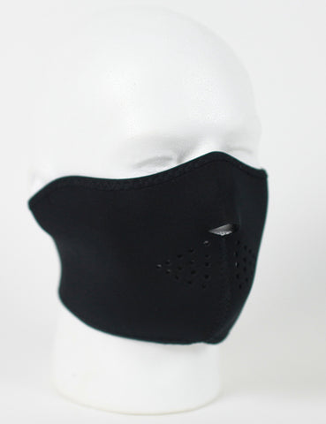 Neoprene 1/2 Face Mask - black