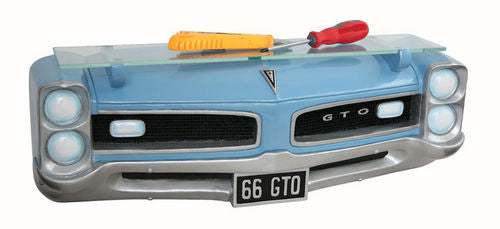 1966 Pontiac GTO 3D wall shelf