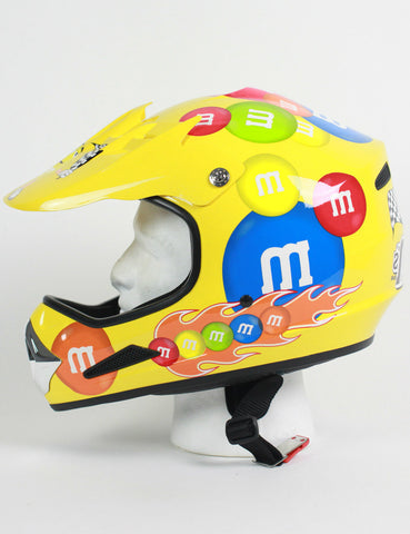 Fun M&M Motocross Helmet