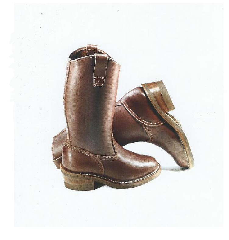 Custom Womens Western Leather Boots - Brown