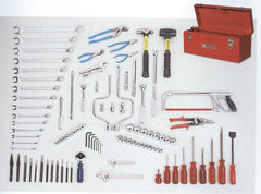 Wright Tools VMD 97 Pc. Starter Set, with Heavy-Duty Mechanic's Box and Tray