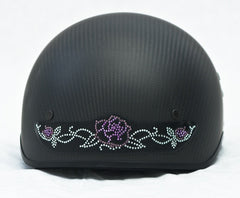 Rhinestone Helmet Patch   Roses   Choice of Styles