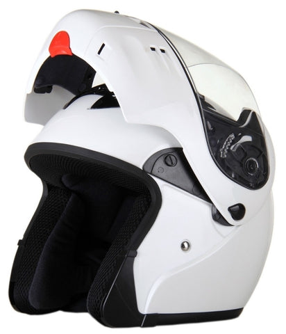 DOT Full Face Modular Motorcycle Helmet - Choice of colors